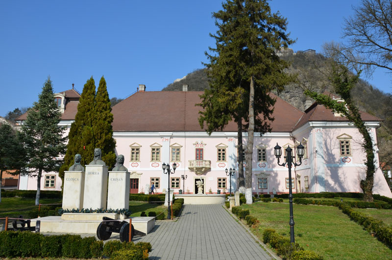 The Museum of the Dacian and Roman Civilization Deva, the palace at the foot of the fortress