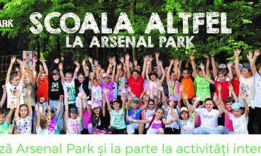 """""""Școala altfel"""", la Arsenal Park Orăștie, cel mai mare parc tematic din România"""