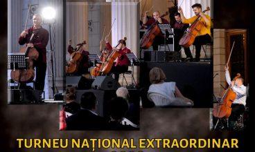 """Incursiune sonoră, unică, în lumea violoncelului. Turneul Național """"Clasic la puterea a treia"""" ajunge la Deva"""