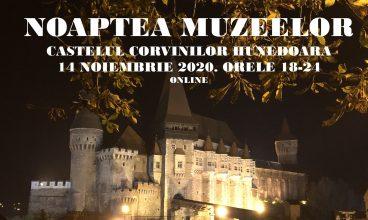 Noaptea muzeelor, online, la Castelul Corvinilor