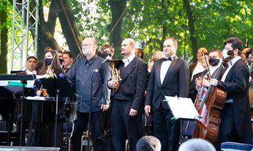 Concert de excepție al Filarmonicii de Stat din Sibiu în parcul din Deva